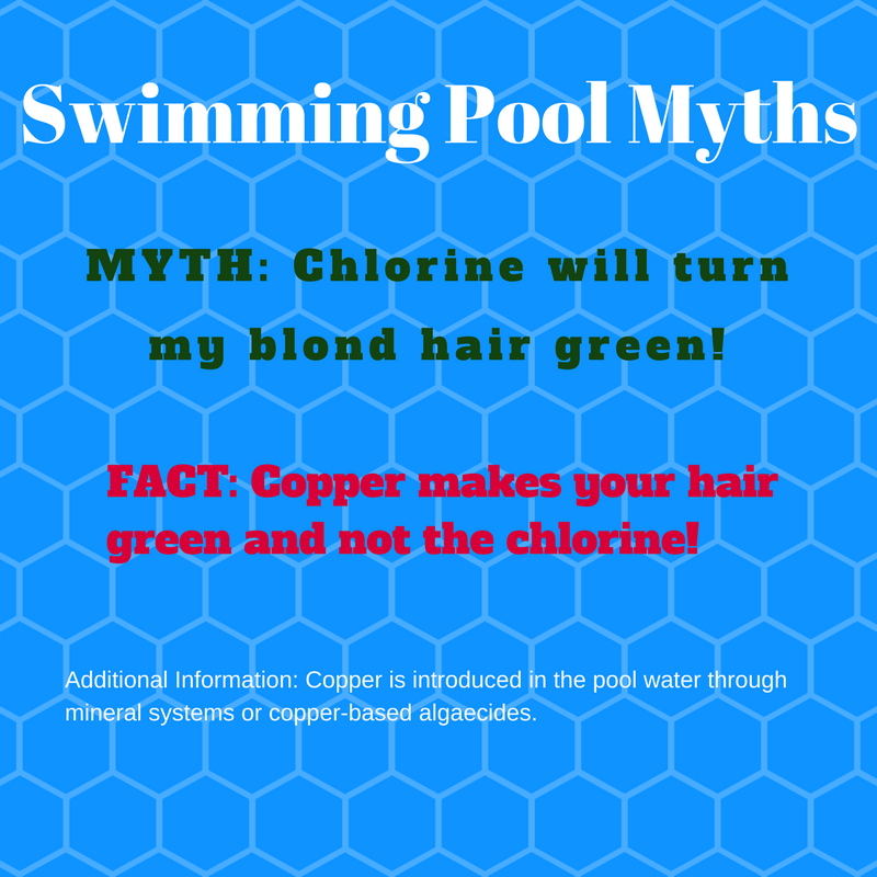 Swimming Pool Myths # 1 Chlorine Turns Blond Hair Green ...